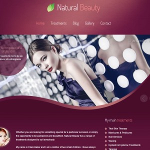 WordPress Design and Development for Natural Beauty based in Taunton, Somerset.